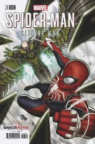 Spider-Man: City At War #3 (Nakayama Cover)