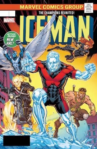 Iceman #6 (Ryan Cover)