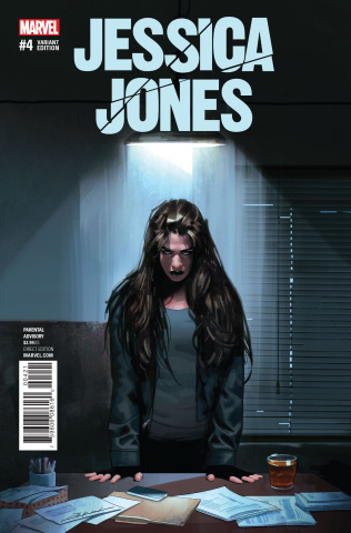 Jessica Jones #4 (Dekal Cover)