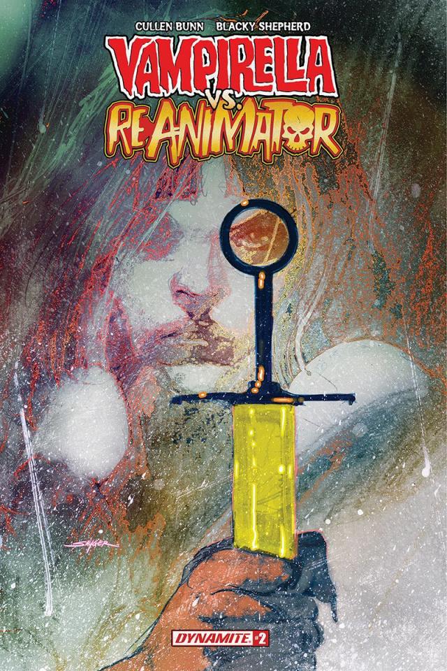 Vampirella vs. Reanimator #2 (Sayger Cover)