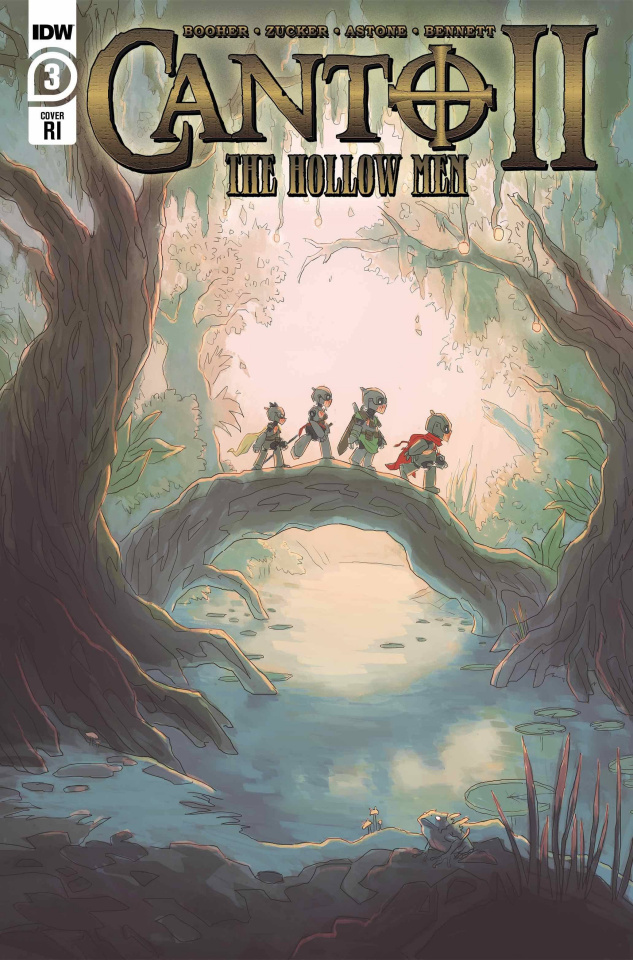 Canto II: The Hollow Men #3 (10 Copy Alterici Cover)