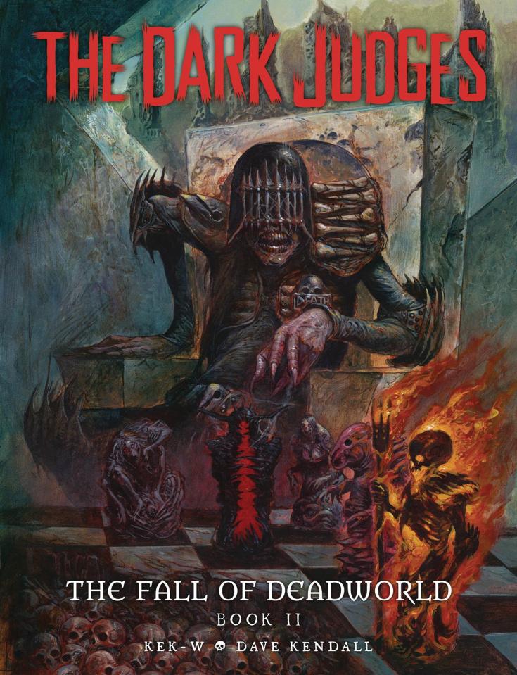 The Dark Judges: The Fall of Deadworld Vol. 2