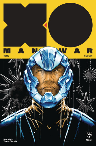 X-O Manowar #26 (Manomivibul Cover)