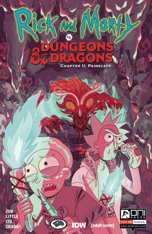 Rick and Morty vs. Dungeons & Dragons II: Painscape #2 (Goux Cover)
