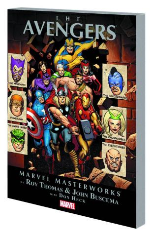 Avengers Vol. 5 (Marvel Masterworks)