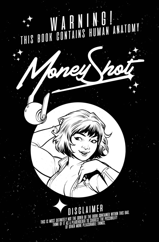 Money Shot #13 (Black Bag Cover)