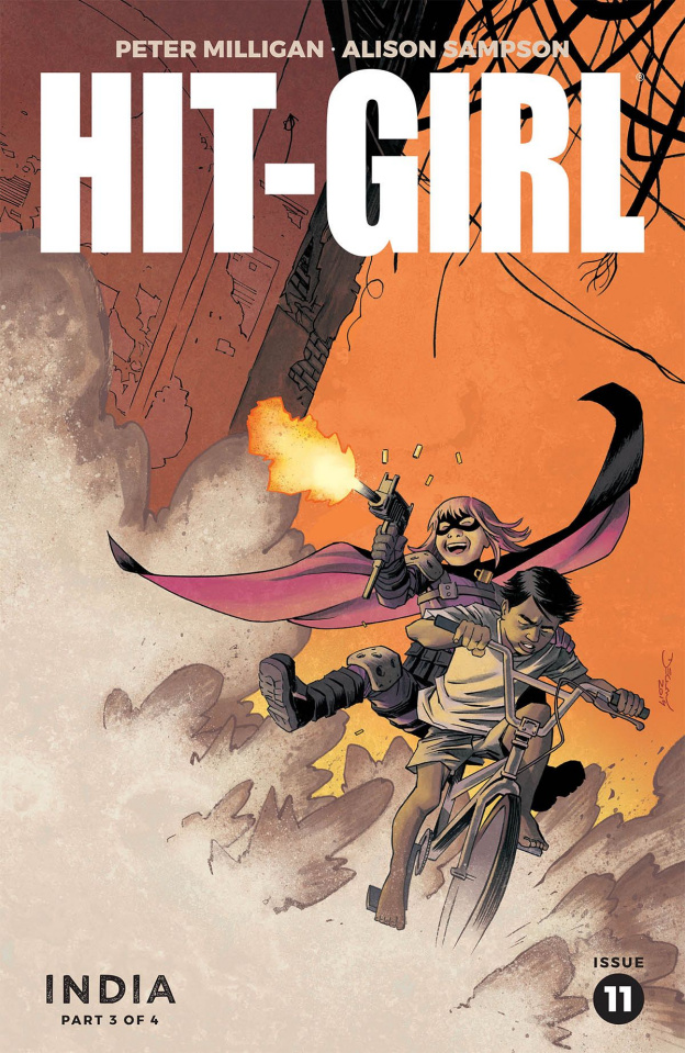Hit-Girl, Season Two #11 (Shalvey Cover)