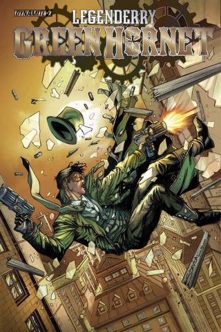 Legenderry: Green Hornet #2