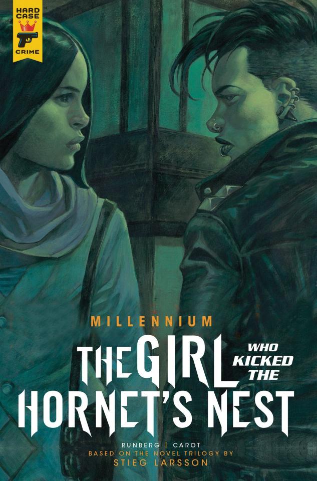 The Girl Who Kicked the Hornet's Nest #2 (Homs Cover)