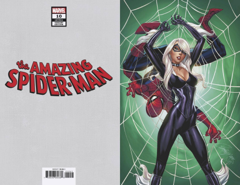 The Amazing Spider-Man #10 (Campbell Black Cat Virgin Cover)