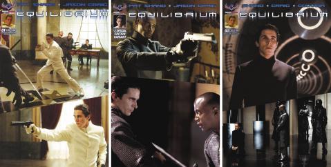 Equilibrium #1-3 (Photo Covers)