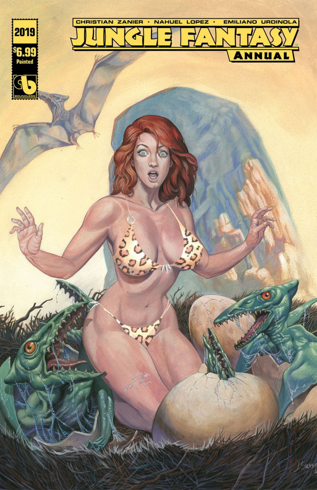 Jungle Fantasy Annual 2019 (Painted Cover)