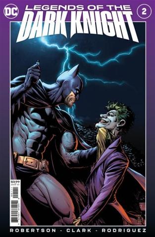 Legends of the Dark Knight #2 (Darick Robertson & Diego Rodriguez Cover)