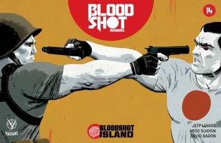 Bloodshot: Reborn #14 (Kano Cover)