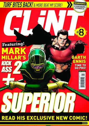Clint #8 (Newsstand Edition)