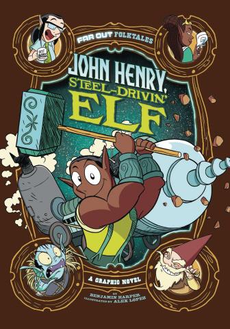 John Henry, Steel Drivin' Elf