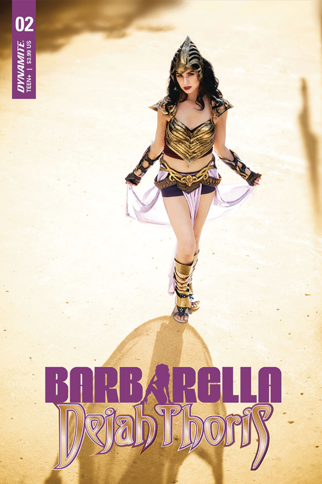 Barbarella / Dejah Thoris #2 (Cosplay Cover)