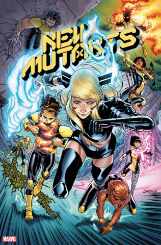 New Mutants #1 (Garron Young Guns Cover)