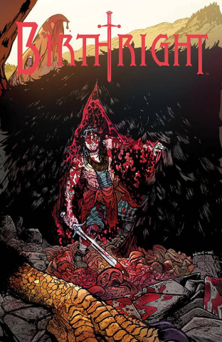 Birthright #13 (Johnson & Plascencia Cover)