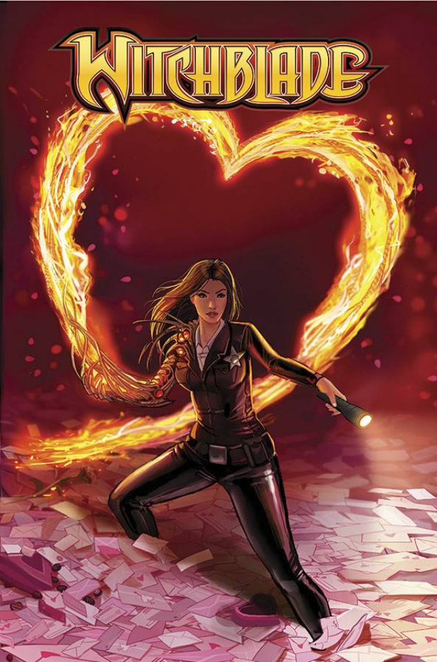 Witchblade #180 (Valentine's Day Cover)
