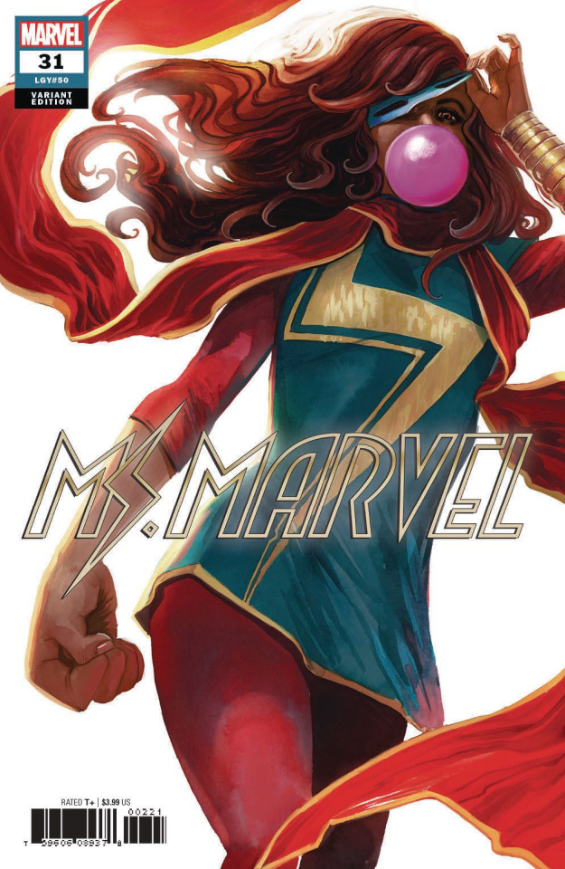 Ms. Marvel #31 (Hans Cover)