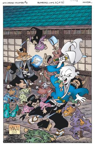 Usagi Yojimbo #3 (Sakai Cover)