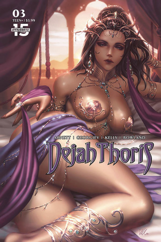 Dejah Thoris #3 (Kunkka Cover)