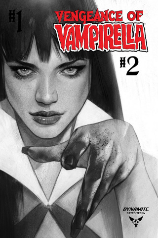 Vengeance of Vampirella #2 (30 Copy Oliver B&W Cover)