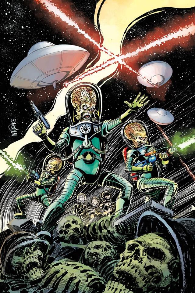 Mars Attacks #1 (40 Copy Mandrake Virgin Cover)