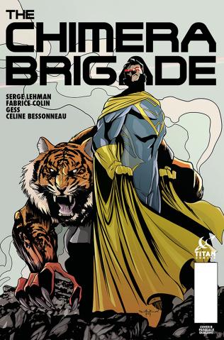The Chimera Brigade #3 (Qualano Cover)