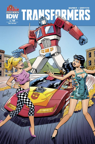 The Transformers #48 (Archie 75th Anniversary Cover)