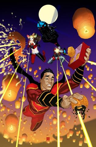 New Super-Man #16 (Variant Cover)