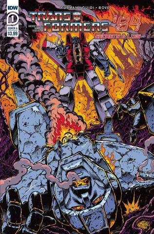 The Transformers '84: Secrets & Lies #1 (Guidi Cover)