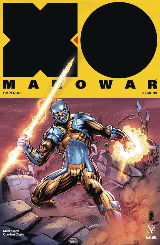 X-O Manowar #9 (50 Copy Icon Robertson Cover)