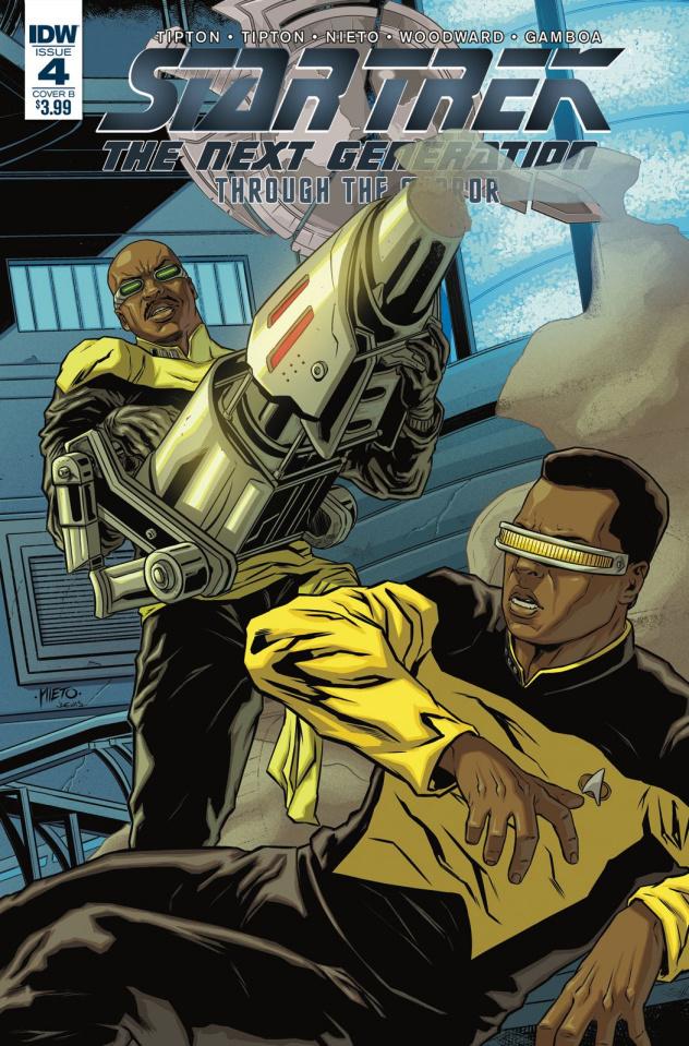 Star Trek: The Next Generation - Through the Mirror #4 (Nieto Cover)