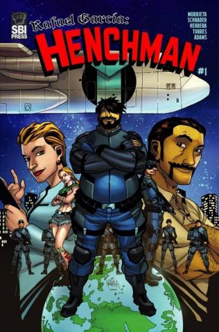 Rafael Garcia: Henchman #1 (Herrera Cover)