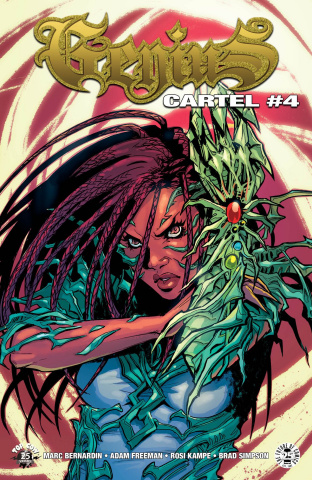 Genius Cartel #4 (Witchblade Cover)