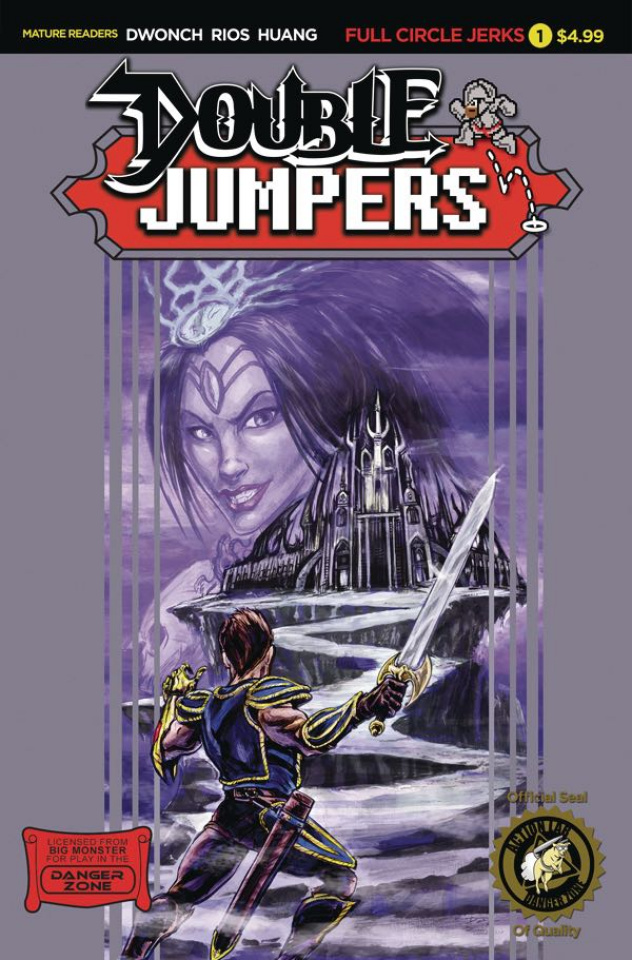 Double Jumpers: Full Circle Jerks #1 (Logan Cover)