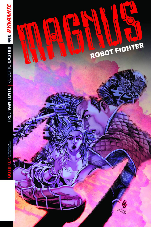 Magnus, Robot Fighter #10 (Lau Cover)