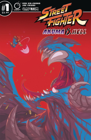 Street Fighter: Akuma vs. Hell #1 (Huang Cover)