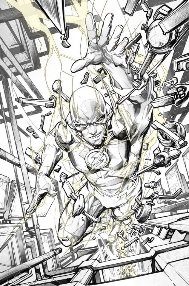 The Flash #56 (Variant Cover)
