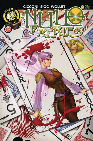 The Null Faeries #5 (Suhng Cover)
