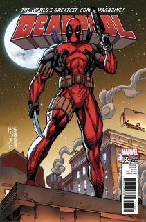 Deadpool #33 (X-Men Card Cover)
