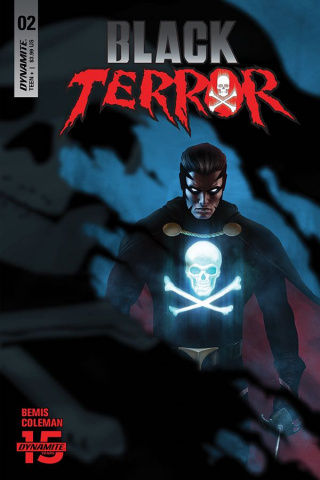 Black Terror #2 (30 Copy Rahzzah Blue Cover)