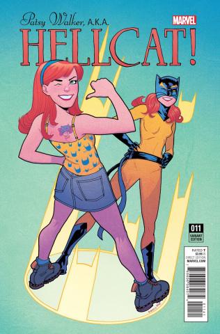 Patsy Walker, a.k.a. Hellcat #11 (Jarrell Cover)
