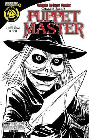 Puppet Master #1 (Blade Sketch Cover)