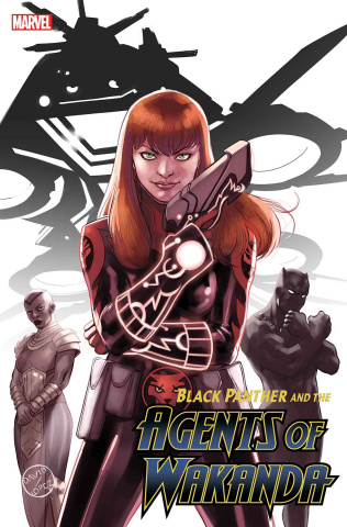 Black Panther and the Agents of Wakanda #2 (Lopez Mary Jane Cover)
