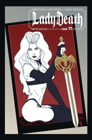 Lady Death #11 (Art Deco Variant Cover)