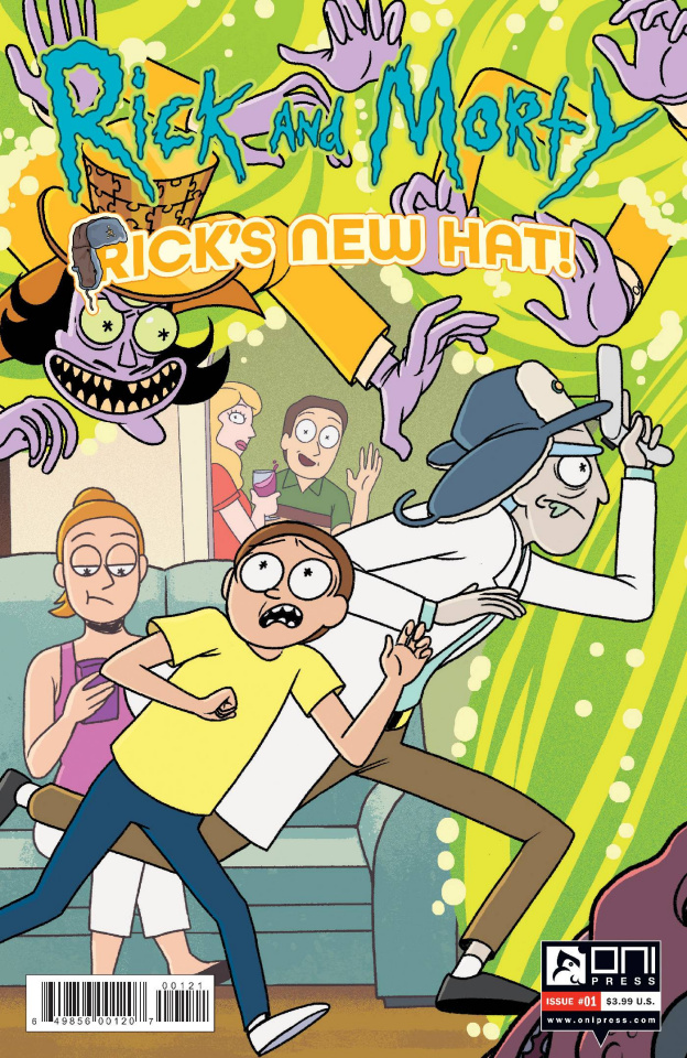 Rick and Morty: Rick's New Hat! #1 (Stern Cover)