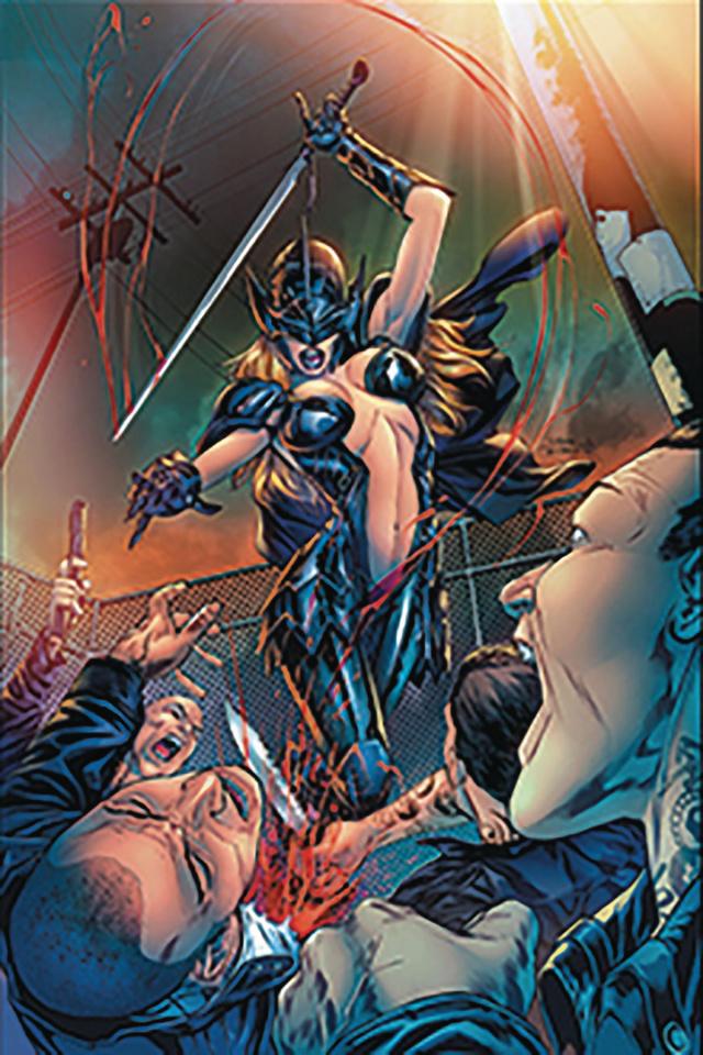 Black Knight #1 (Vitorino Cover)